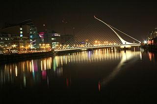 Samuel Beckett Bridge, Dublin.  Image by Salim Darwiche CC A-SA 3.0