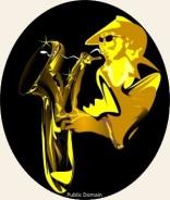jazzmanII Vector ClipArtOnline, Royalty Free & Public Domain