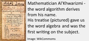 Al'Khwarizmi - the word algorithm2