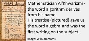 Al'Khwarizmi - the word algorithm2